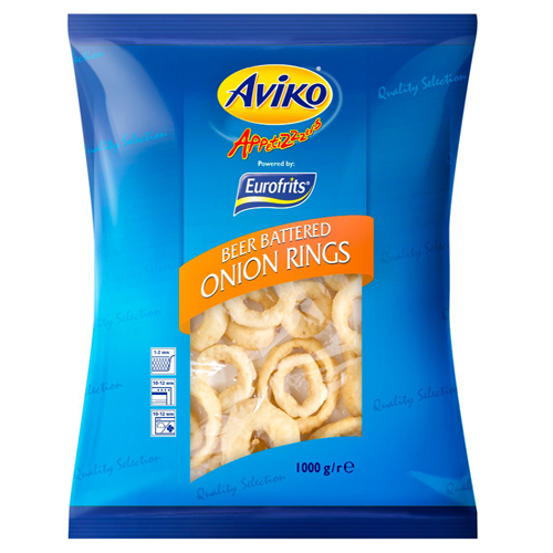Aviko Battered Onion Rings (6kg)