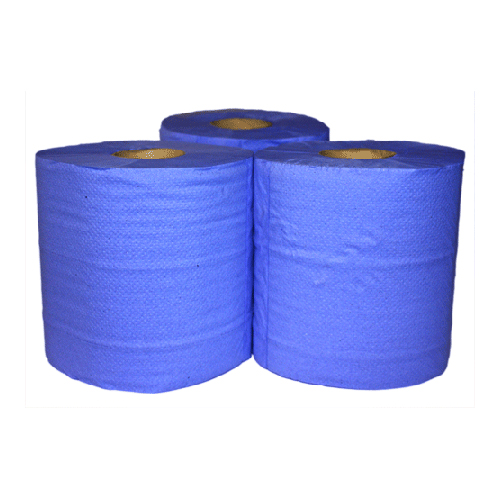 Blue Paper Roll (Pack of 6)