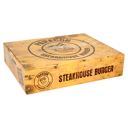 Steakhouse Halal Beef Burger (4oz) (48x113g)