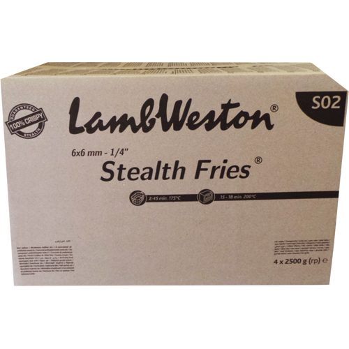 Stealth Fries (9x9) (10kg) (LW)