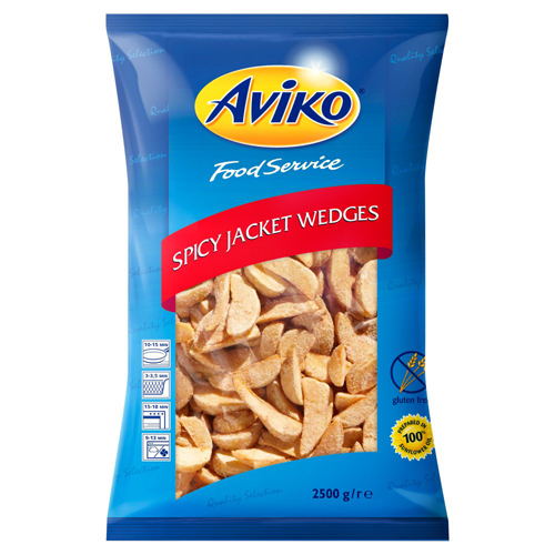Aviko Spicy Jacket Wedges (4x2.5kg)