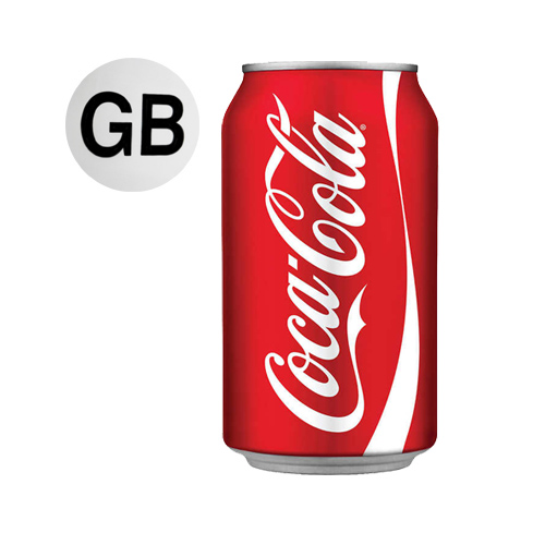 Coke (24x330ml) (GB)