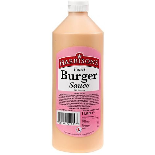Squeezy Burger Sauce (4x970ml)