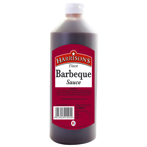 Squeezy BBQ Sauce (4x970ml)